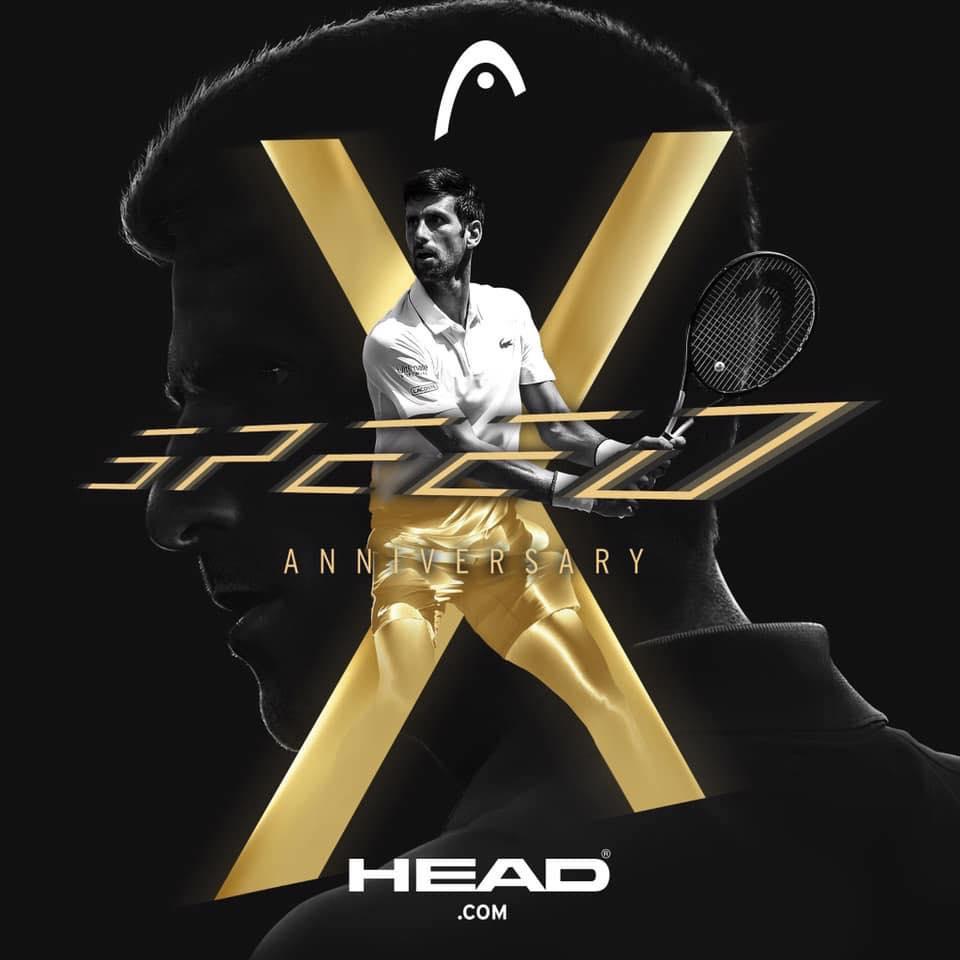 Vợt Tennis phiên bản đặc biệt HEAD Graphene 360 SPEED X MP 300gr (236109)