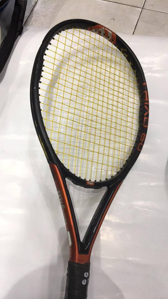 Hiện trạng cây vợt Wilson Triad 6.0