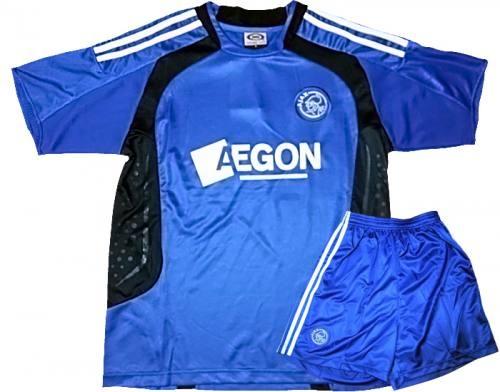 Bộ quần áo bóng đá Ajax xanh K015