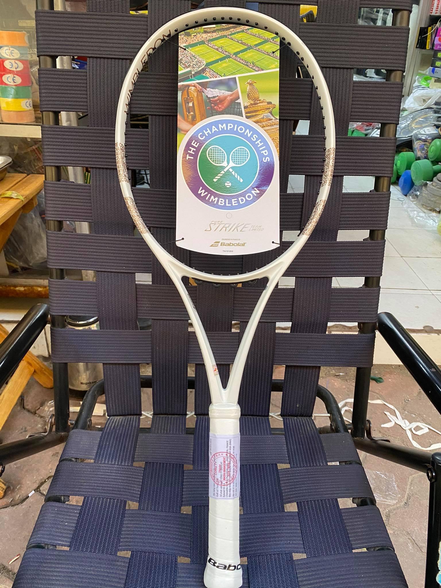 Vợt tennis Babolat Pure Strike Team Wimbledon  (285gr)
