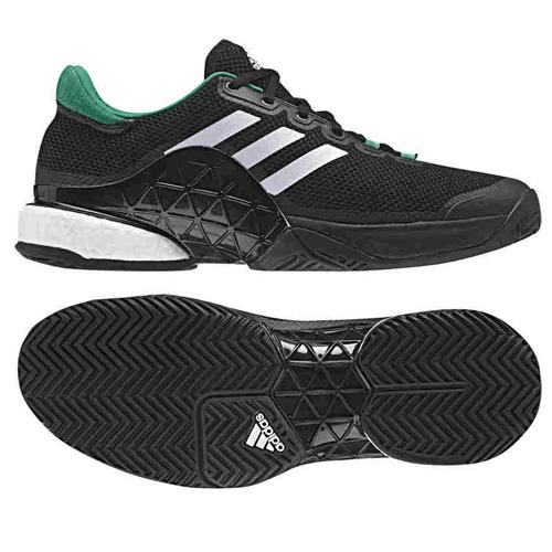 Giày tennis Adidas Barricade Boost 2017 Bl/Wh/Gr (BA9103)
