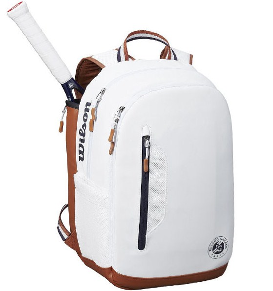 Balo thể thao WILSON ROLAND GARROS TOUR BACKPACK Wh/Nav/CLAY WR8006602001