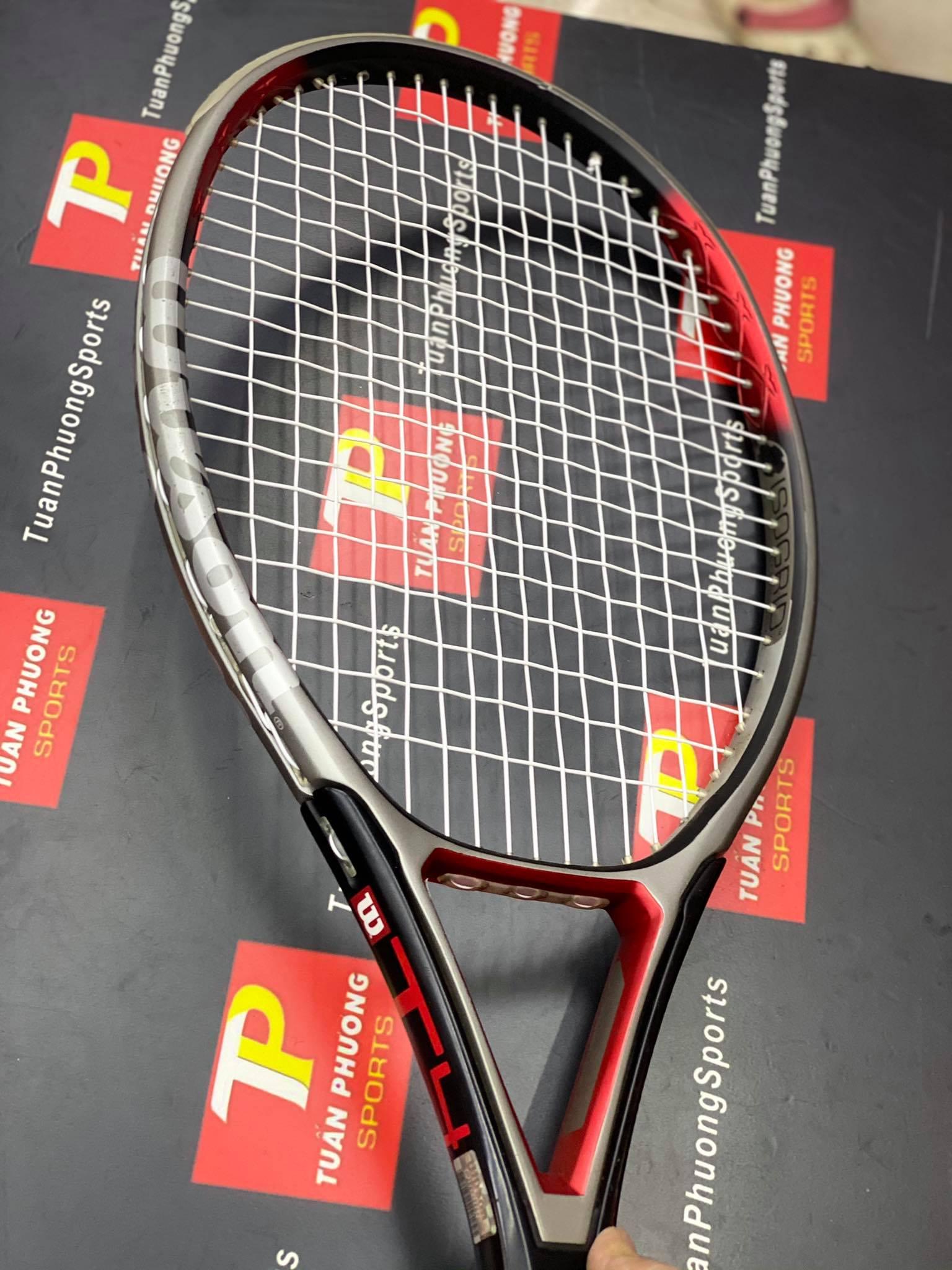 vợt tennis Wilson Triad T4 Cũ 110 in