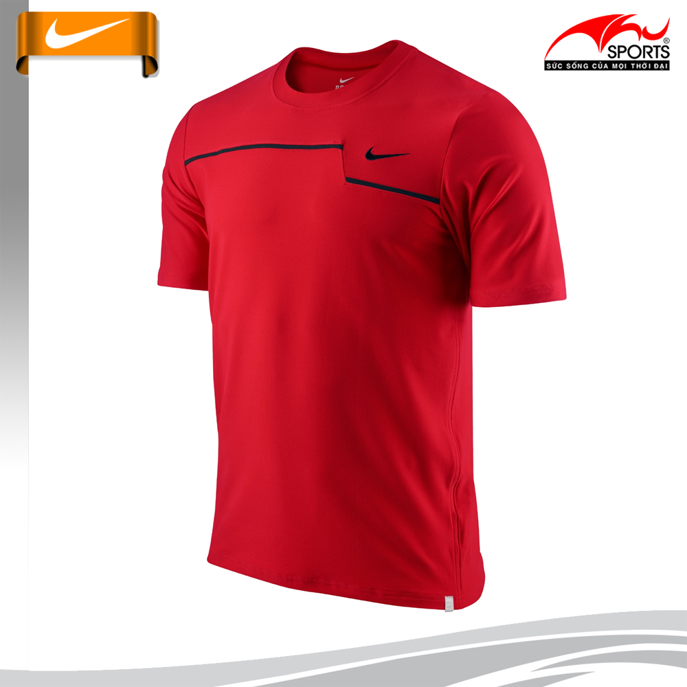 Áo Tennis Nam Hiệu Nike - NIKE CHALLENGER UV ZIG-ZAG 425444-600
