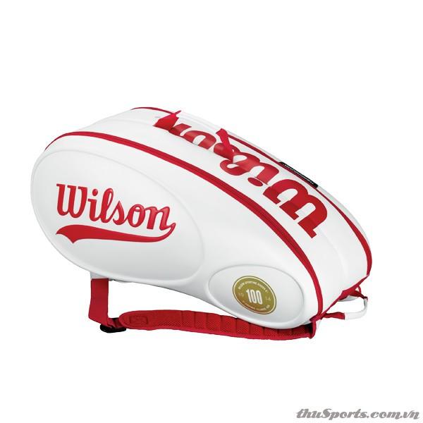 Túi Tennis Wilson 100 Year 9 Cây WRZ842409