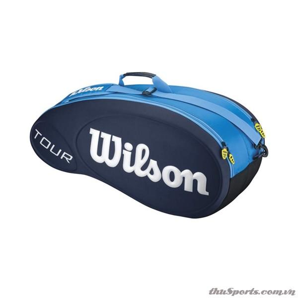 Túi Tennis 6 Cây Blue Molded WRZ840406