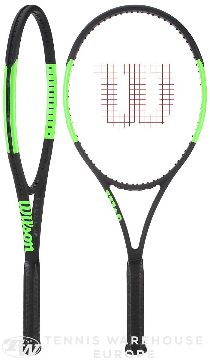 Vợt Tennis Wilson Blade 98UL 16x19 2017 (265gr) mode 2017