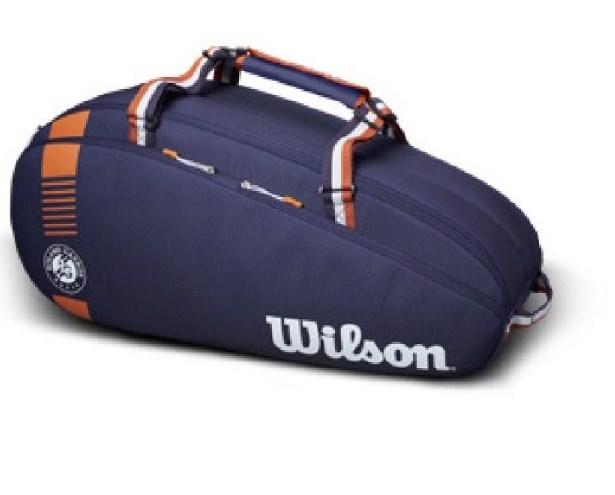 TÚI TENNIS WILSON ROLAND GARROS TEAM 6P WR8006701001