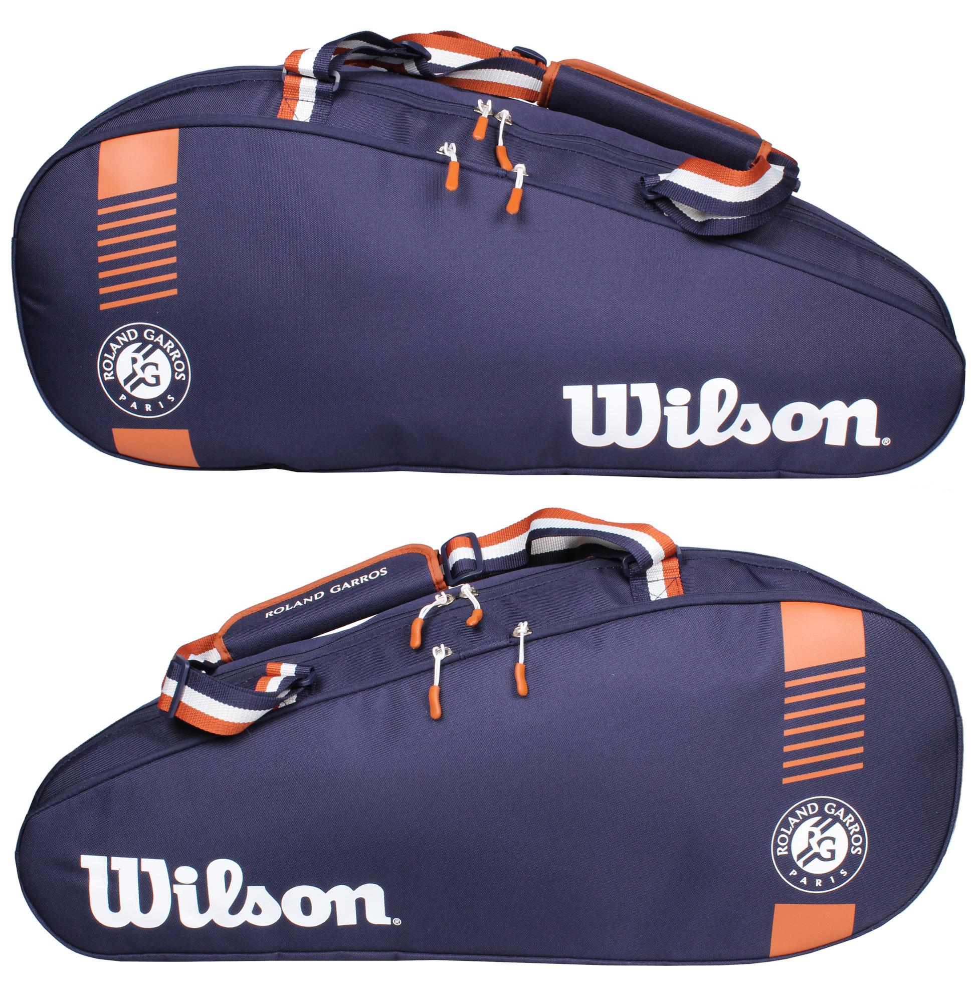 TÚI TENNIS WILSON ROLAND GARROS TEAM 3PK (WR80068010011)