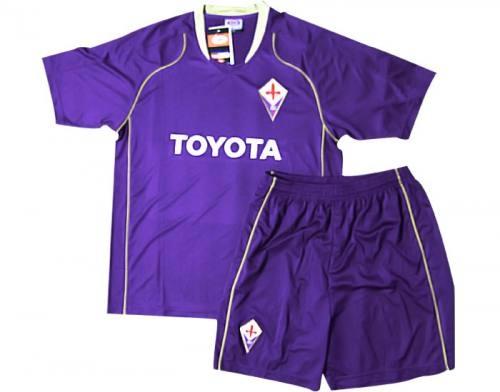 Bộ quần áo bóng đá Fiorentina tím S002