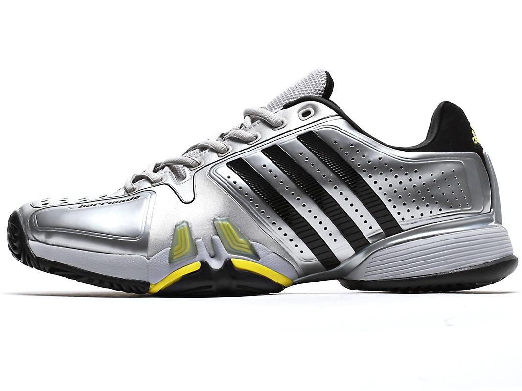 adidas barricade 7.0 mens silver/black