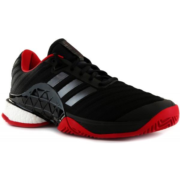 buy online a5a27 98f8e adidas Barricade 2018 Boost Black Scarlet (CM7829)   Sản phẩm   Tuấn Phương  Sports
